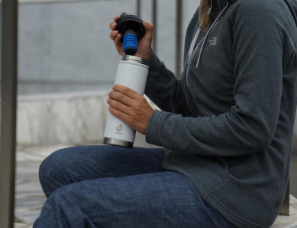 MIZU V7 KIT – jedna láhev pro lepší budoucnost