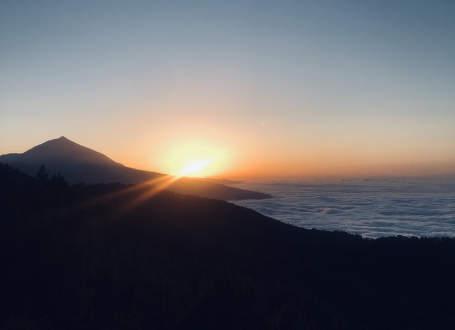 Výstup na Pico de Teide za úplňku
