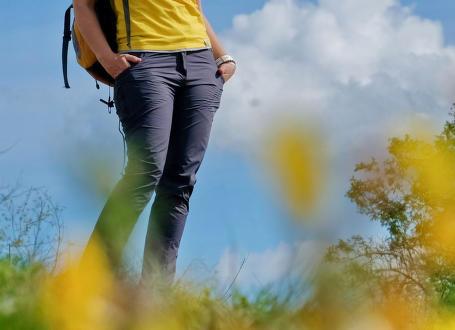 Test dámských turistických kalhot Direct Alpine Iris