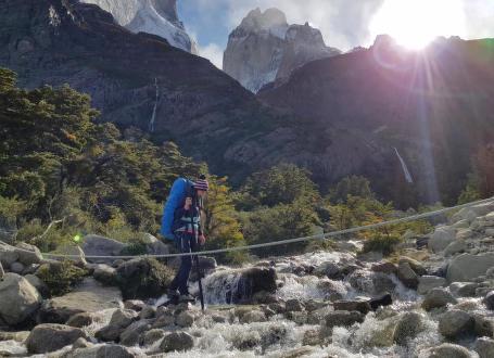 Trek chilským národním parkem Torres del Paine