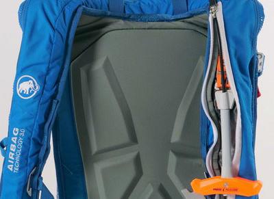 Výzva ke kontrole lavinového airbagu Mammut