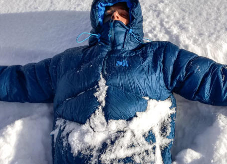 Testujeme: Drtič mrazu – Péřovka Millet Kamet Down