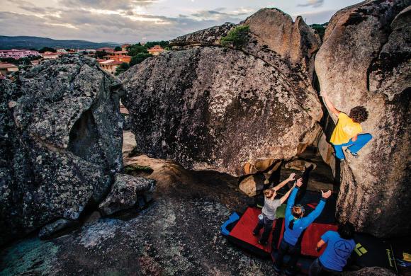Vybavení na bouldering