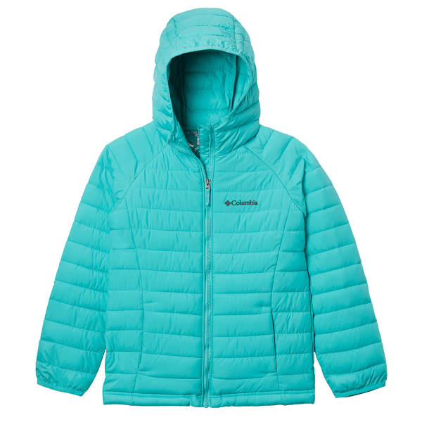 Powder Lite™ Hooded Jacket Girls Dolphin 356