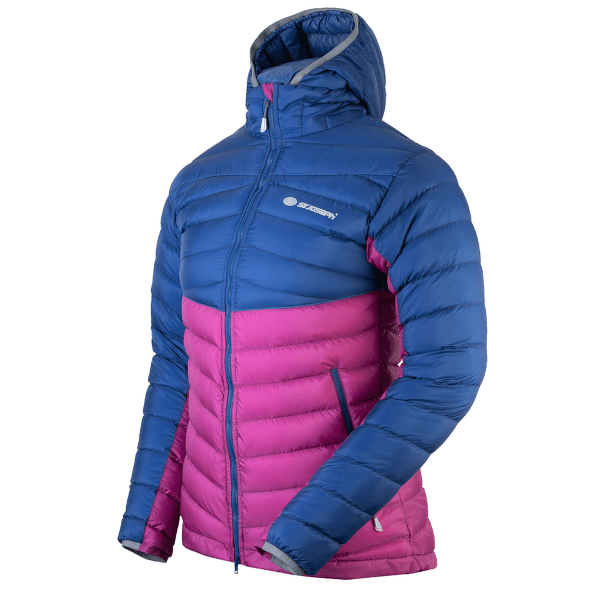 Atol Hooded Lady navy/berry