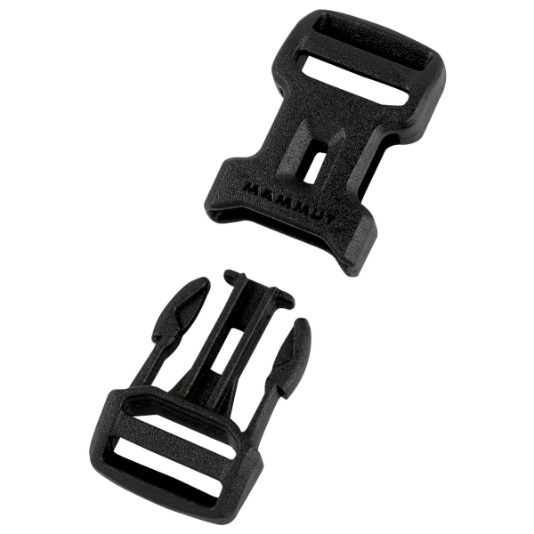 Dual Adjust Side Squeeze Buckle 15 black 0001