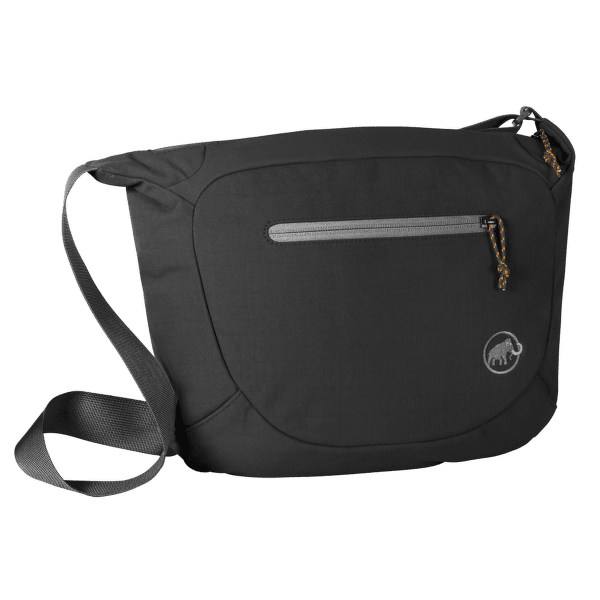 Shoulder Bag Round 8 black 0001