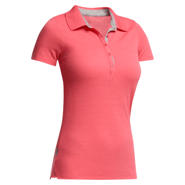 Tech Lite SS Polo Women Grapefruit/Metro HTHR