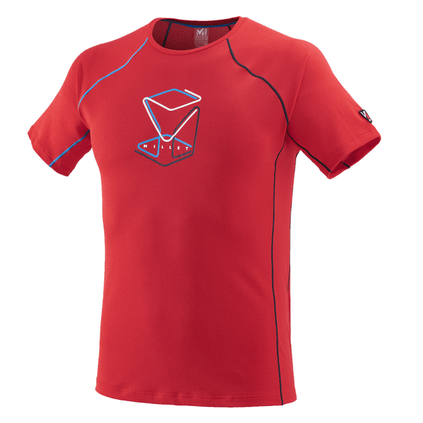 Trilogy Delta Cube T-Shirt SS Men RED - ROUGE