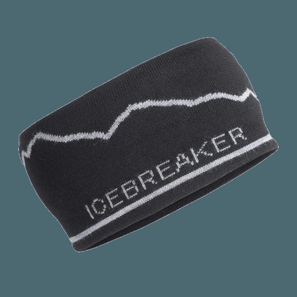 Adult Icebreaker Headband Mt. Cook Black