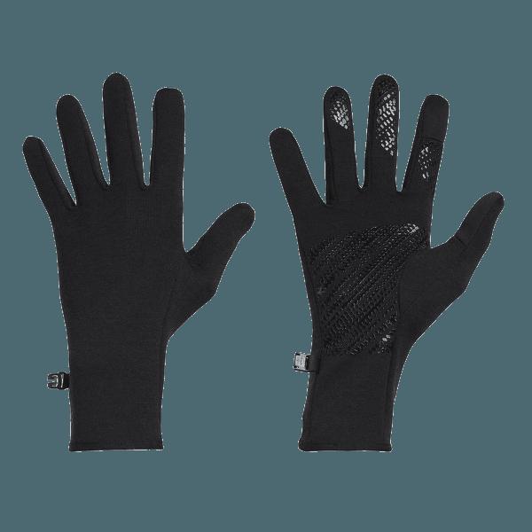 Adult Guantum Gloves Black