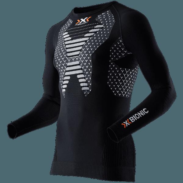 Running Twyce Shirt Long Men Black/White