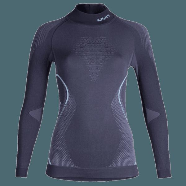 Evolutyon UW Shirt LS Turtle Neck Lady Charcoal/Anthracite/Aqua