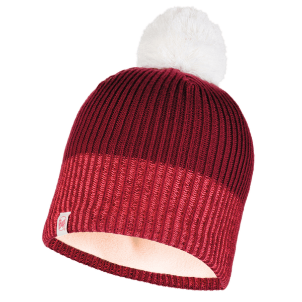 JR Knitted & Polar Hat Audny WINE