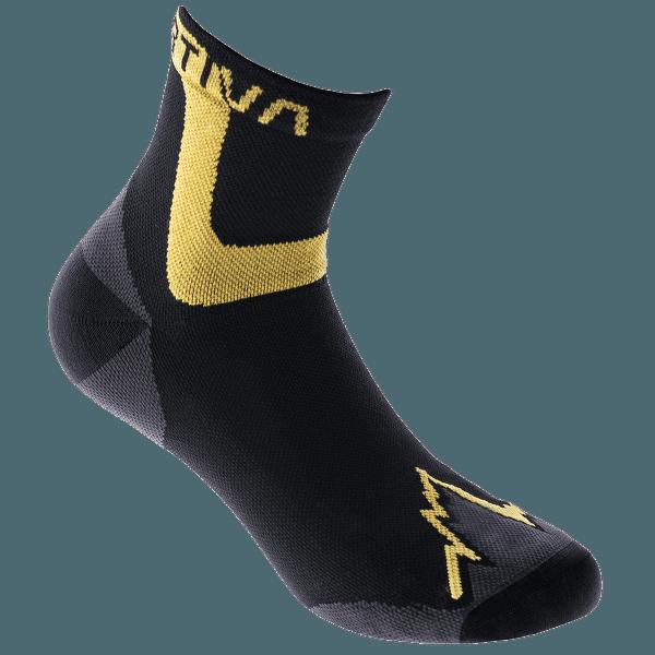 Ultra Running Socks Black/Yellow 999100