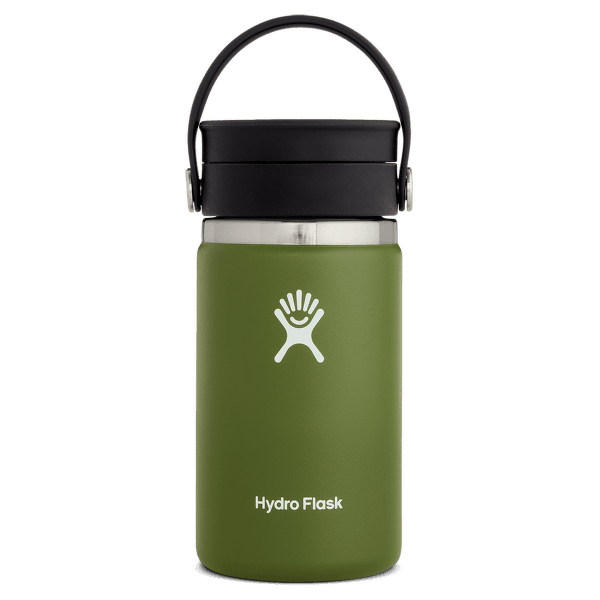 Wide Mouth with Flex Sip Lid 12 oz 306 Olive