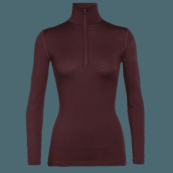 Oasis LS Half Zip Women (104380) Redwood