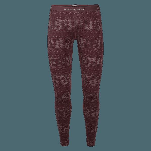 Vertex Leggings Crystalline Women Redwood