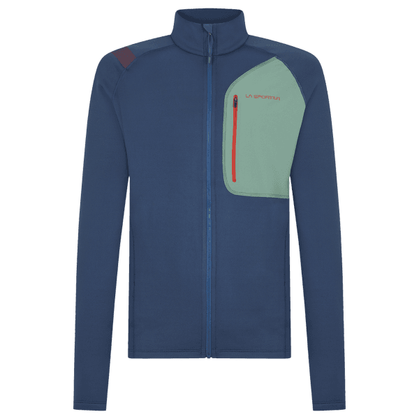 Reign Jacket Men Opal/Grass Green