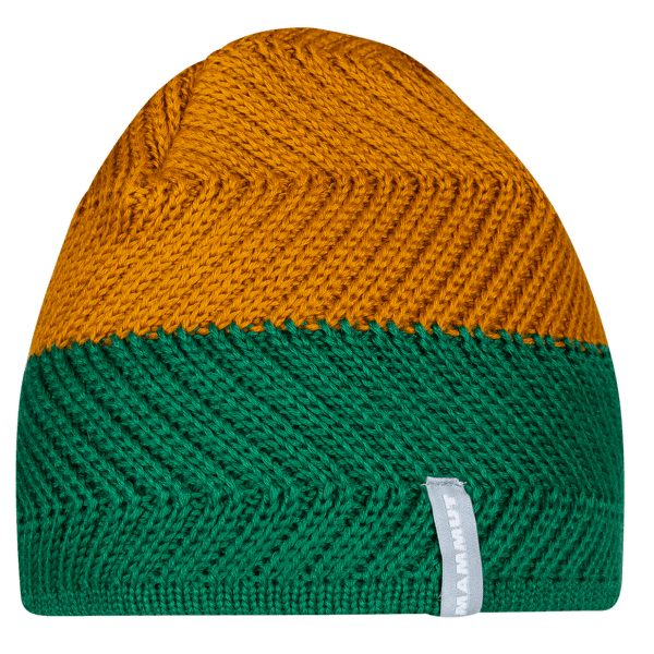 La Liste Beanie deep emerald-tumeric