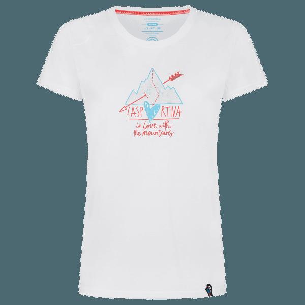 Alakay T-shirt Women White/Hibiscus