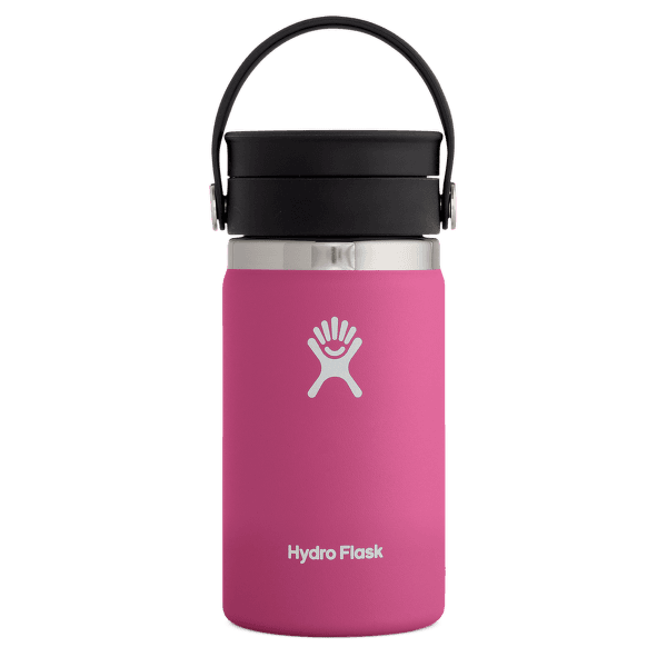 Wide Mouth with Flex Sip Lid 12 oz Carnation