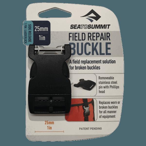 Buckle 25 mm side release 1 PIN Black
