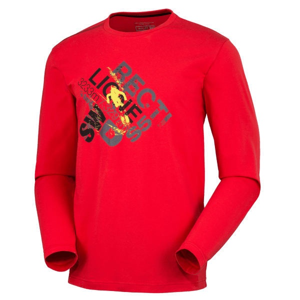 Rectiligne TS LS RED - ROUGE