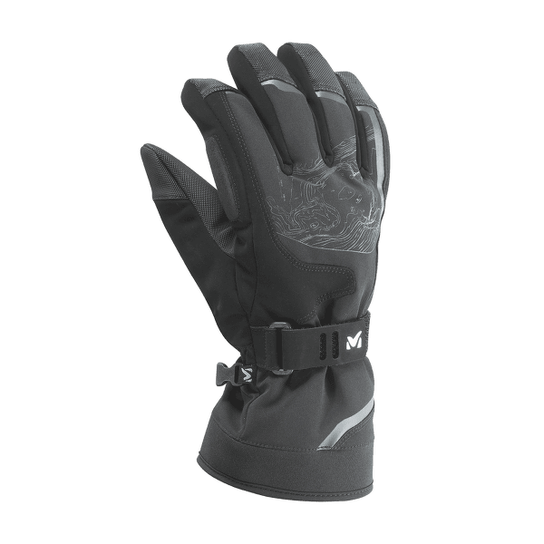 Amber Dryedge Glove NOIR/CHARCOAL