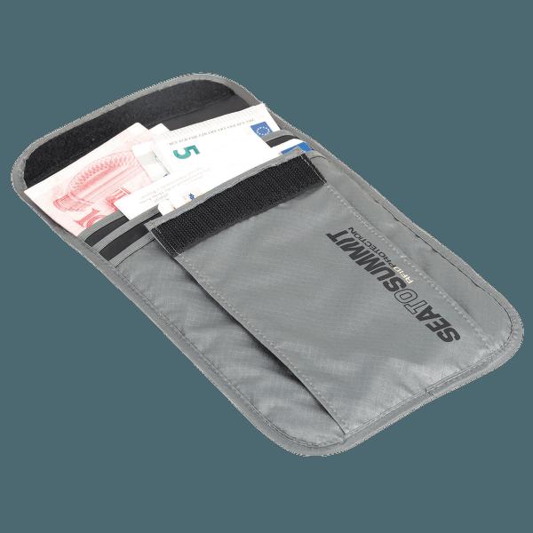 Neck Pouch RFID L Grey