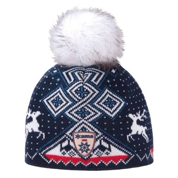 A98 Knitted Hat 108 navy