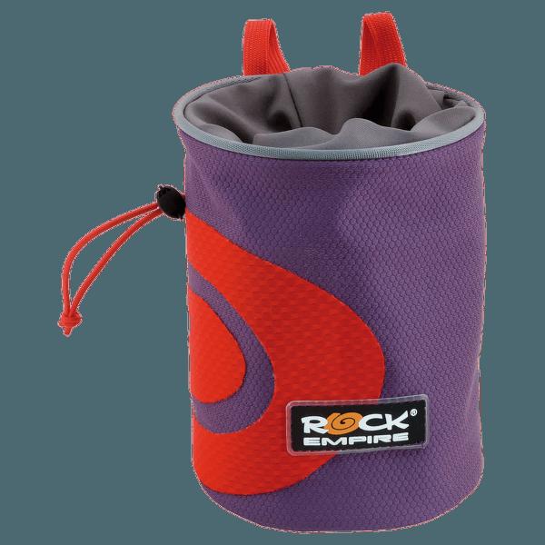 Chalk Bag Spiral Dark Purple