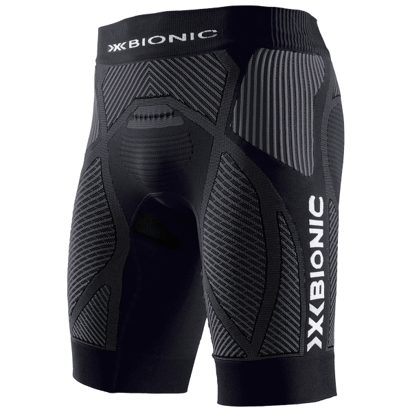 The Trick Running Shorts Men Black Anthracite