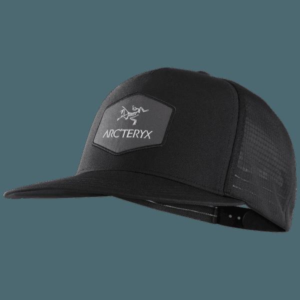 Hexagonal Trucker Hat Black