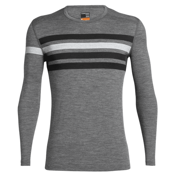 Oasis LS Crewe Heritage Stripe Men