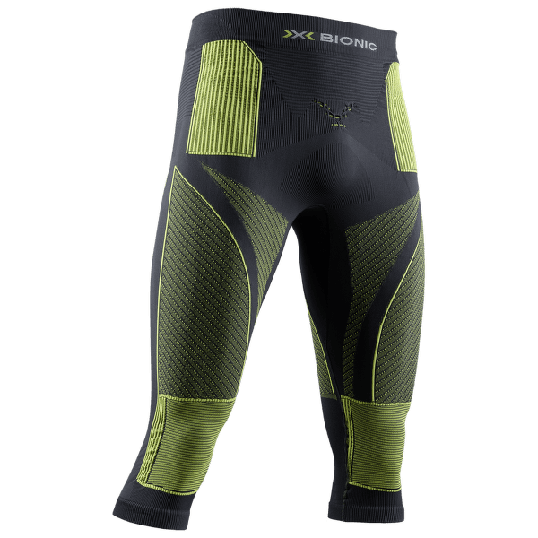 Energy Accumulator 4.0 Pants 3/4 Men Charcoal/ Yellow