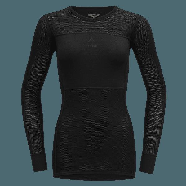 Wool Mesh Shirt Women (151-226) 960A CAVIAR