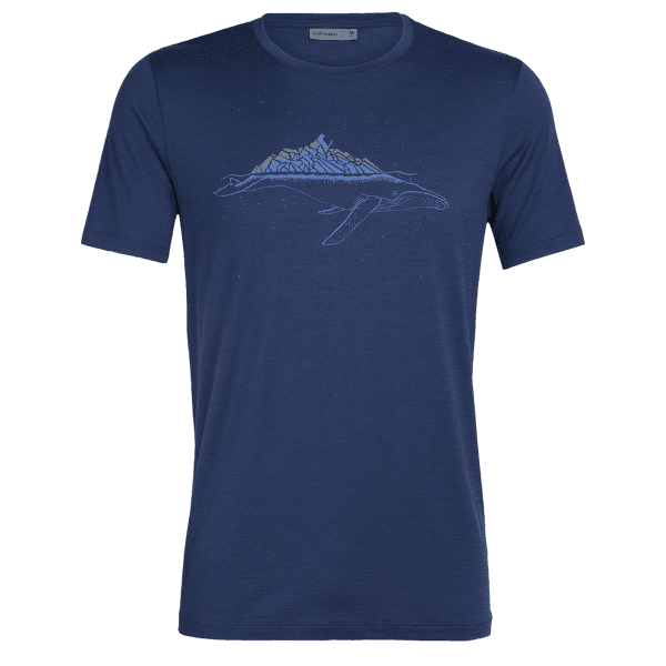 Tech Lite SS Crewe Whitecap Whale Men ESTATE BLUE
