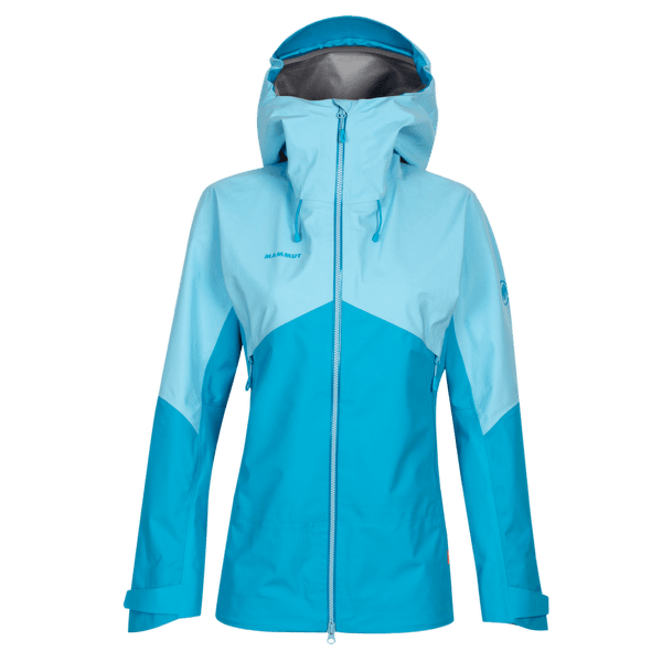 Crater HS Hooded Jacket Women ocean-whisper 50317