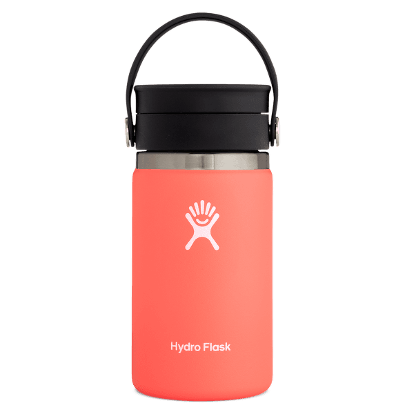Wide Mouth with Flex Sip Lid 12 oz 650 Hibiscus