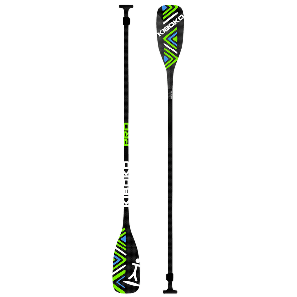 Karbonové Kiboko PRO II dvoudílné Zeleno - modrá