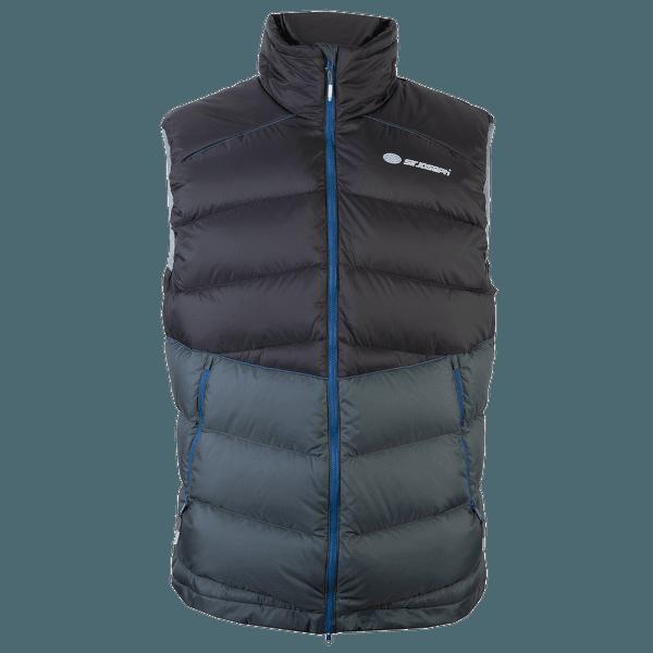 Ladak Vest Men black/dark grey