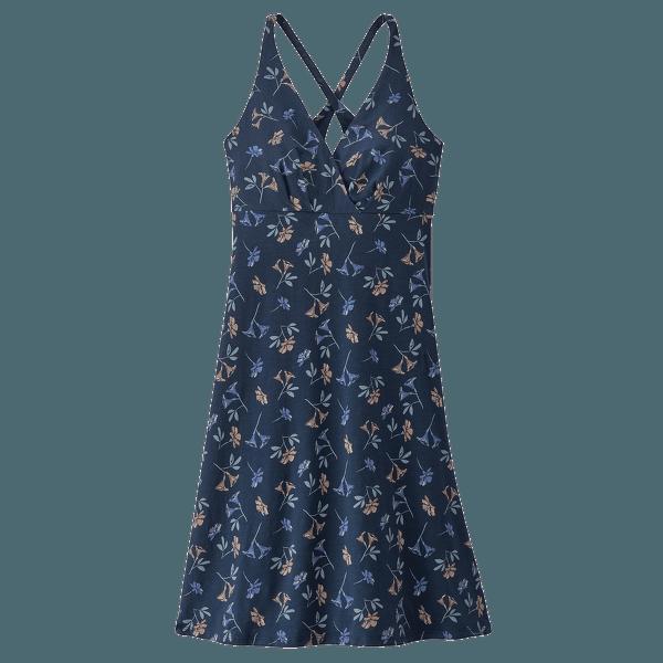 Amber Dawn Dress Women Quito Multi: Tidepool Blue