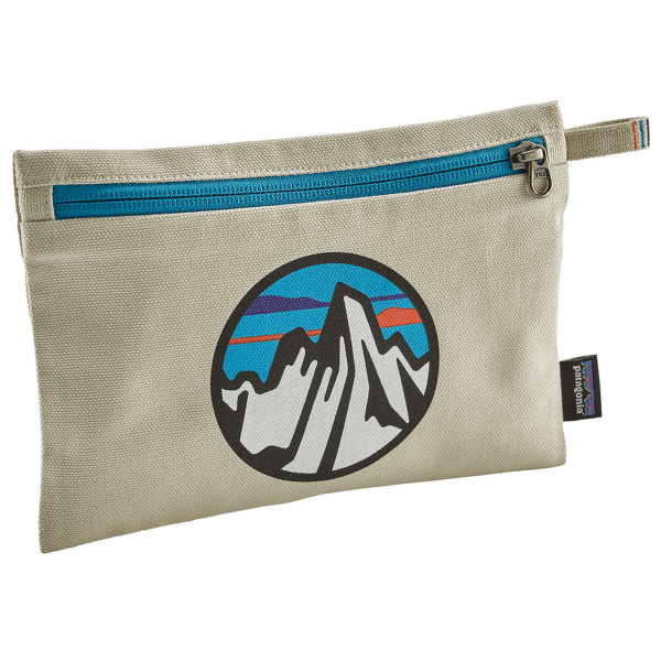 Zippered Pouch Fitz Roy Scope Icon: Bleached Stone