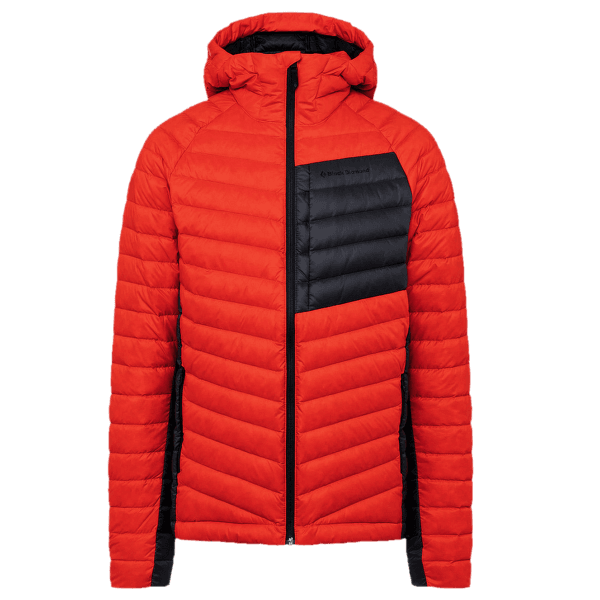 Access Down Hoody Men Octane-Carbon