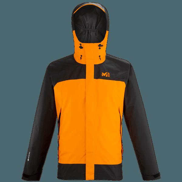 MUNGO GTX 2.5L Jacket Men NOIR/KUMQUAT
