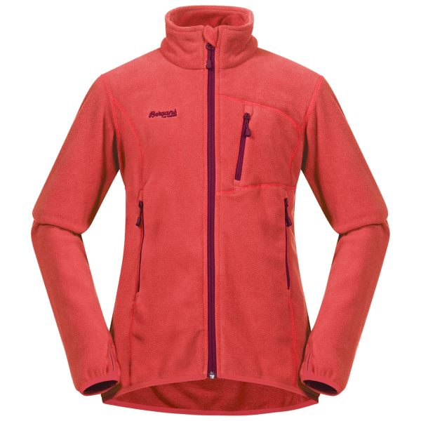 Runde Youth Girl Jacket Light Dalia Red/Beet Red