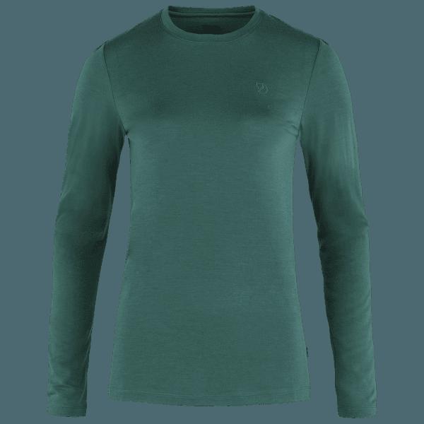 Abisko Wool LS Women Arctic Green