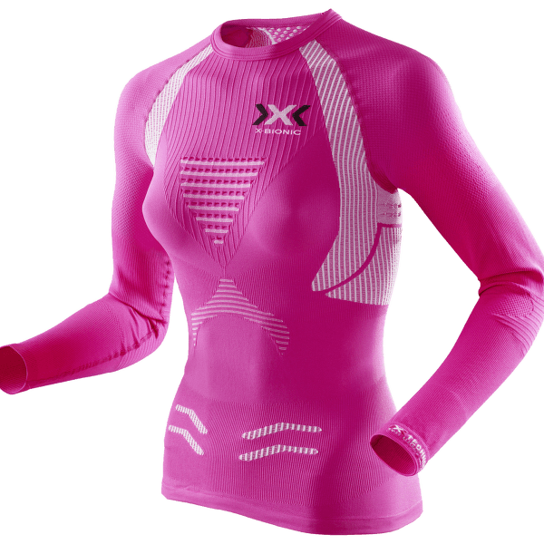 The Trick Running Shirt Women Pink/White