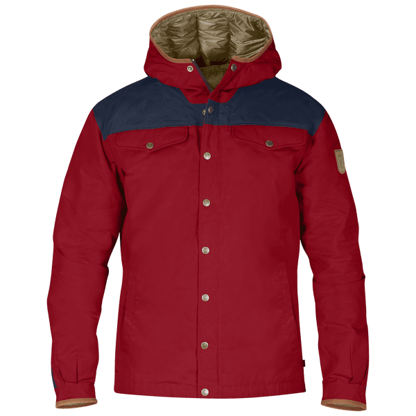 Greenland No.1 Down Jacket (81394) Deep Red-Dark Navy